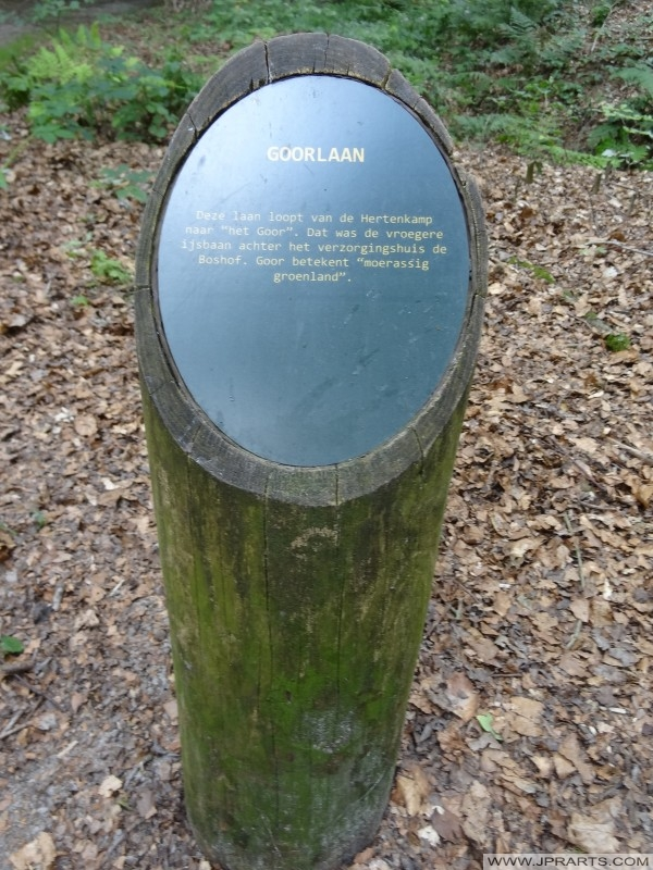 mala informacija pol Goorlaan u Asserbos (Assen, Nizozemska)