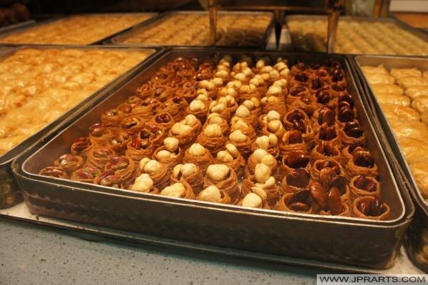 Gâteaux Traditionnels Turcs Baklava