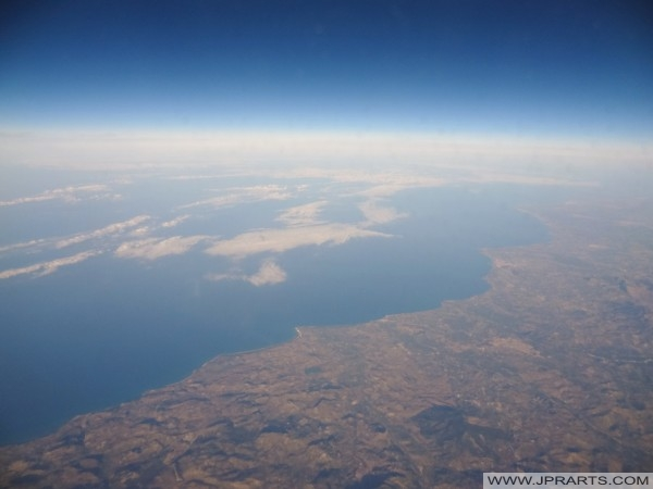 Sicily and Mediterranean Sea