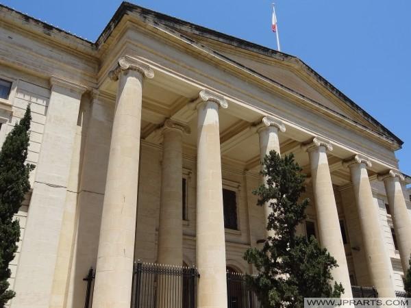 Gerichtsgebäude in Valletta, Malta