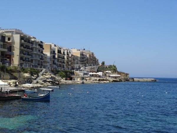 Marsalforn Bay, Gozo, Malta