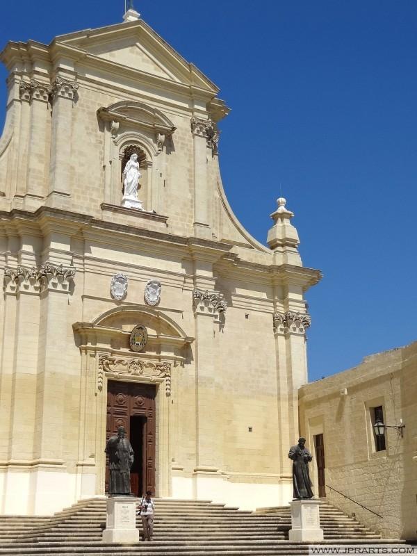 Kathedrale der Himmelfahrt in Victoria (Gozo, Malta)