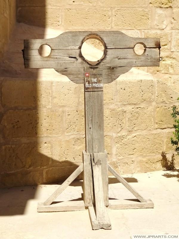 Altes Gefängnis in der Zitadelle von Gozo (Victoria, Malta)
