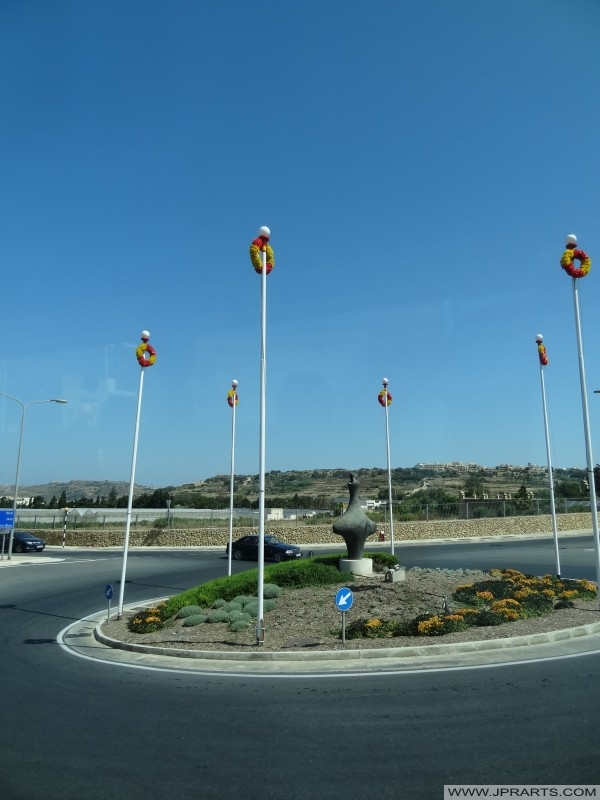Rotonde op het eiland Gozo, Malta