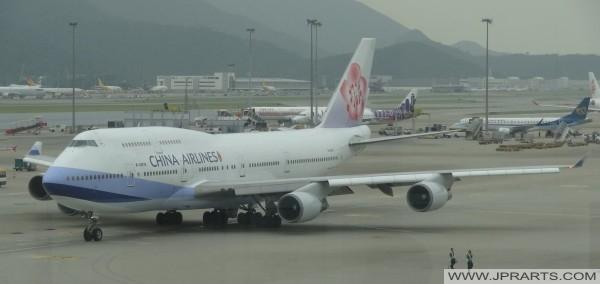 中國國際航空公司在香港國際機場