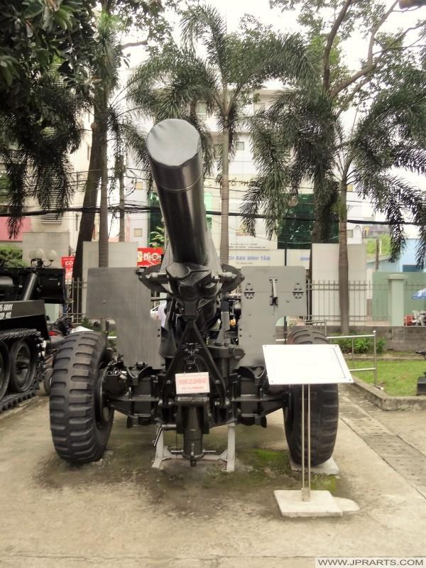 155 mm Howitzer (Artillery Gun in the War Remnants Museum in Ho Chi Minh City, Vietnam)
