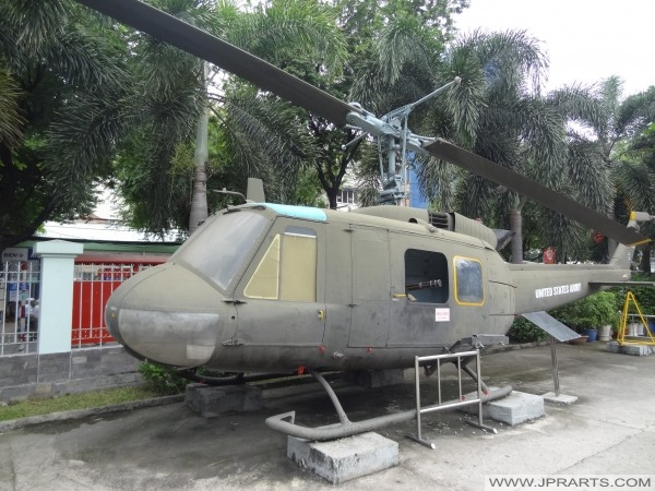 UH - 1H Huey Helicopter used in the Vietnam War by the United States army