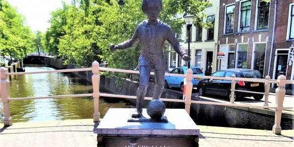 Statues and Monuments in Leeuwarden, The Netherlands