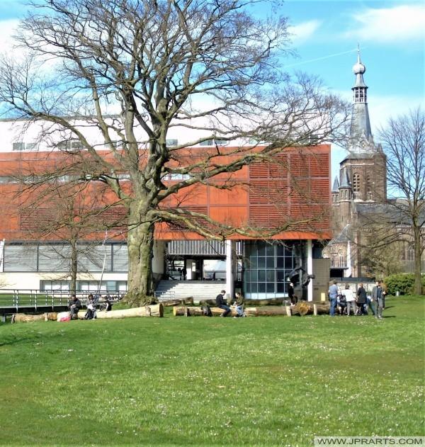 Muzentuin in Tilburg, Nederland