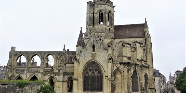 Churches in Caen, France