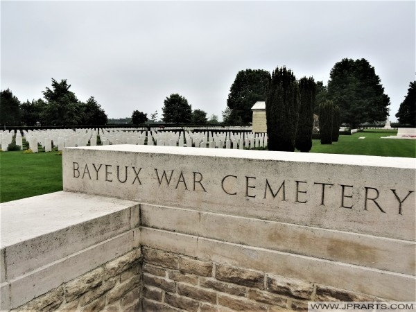 Bayeux War Cemetery (Normandy, France)