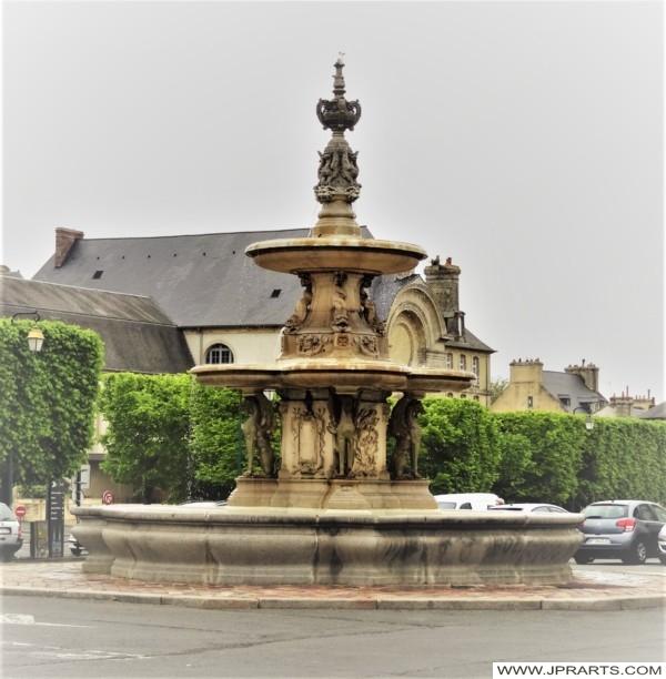 Fontaine St Patrice à Bayeux, France
