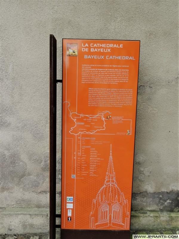 Informations sur la Cathédrale de Bayeux en Normandie, France