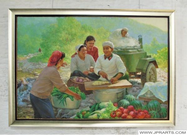 병사의 기술 - 북한의 회화