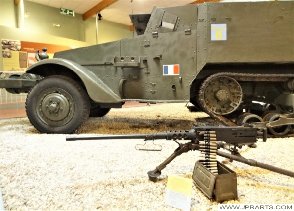 American M3 Half Track (Museum of the Battle of Normandy in Bayeux, France)