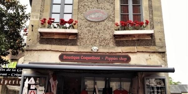 Shopping in Bayeux, France