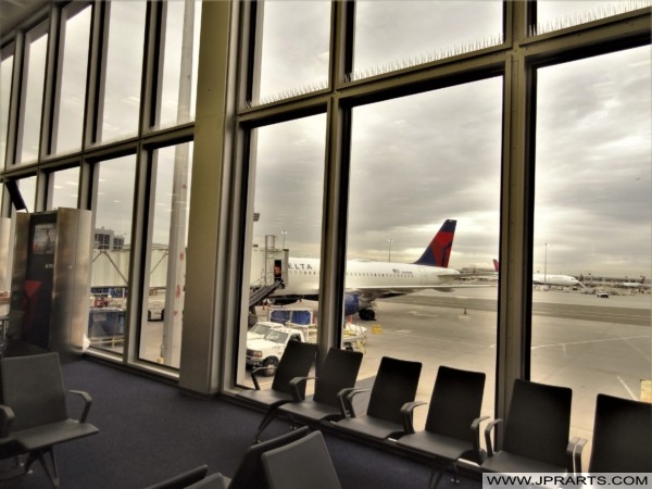 At the Gate of JFK Airport (New York, USA)