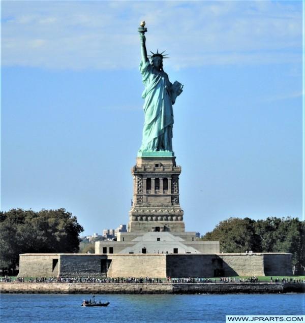 Lugares de Interés en Nueva York, Estados Unidos (Estatua de la Libertad)