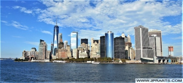 Skyline of Lower Manhattan (New York, USA)