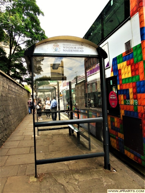 Bus Station in Windsor and Maidenland, UK