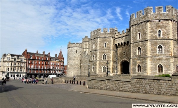 Windsor Castle, the oldest and largest occupied castle in the world