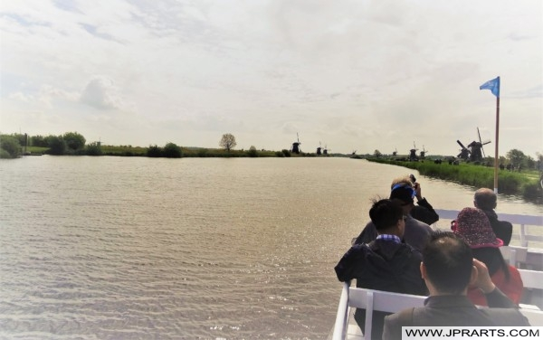 Bootsfahrt Kinderdijk, Niederlande