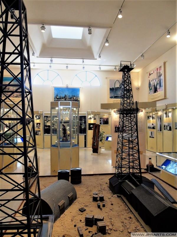 Im Ölmuseum in Bahrain