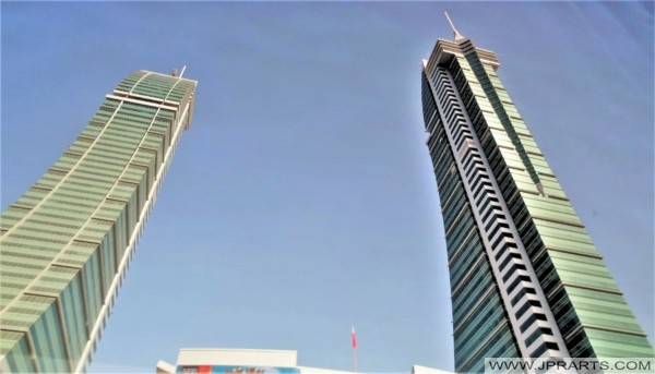 Bahrain Financial Harbour Towers in Manama