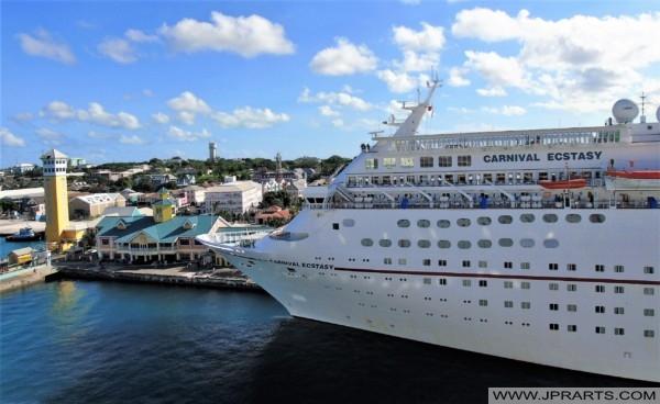 Carnival Ecstasy in Nassau, Bahamas
