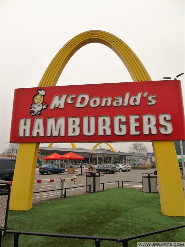 McDonalds Hamburgers (Best, The Netherlands)