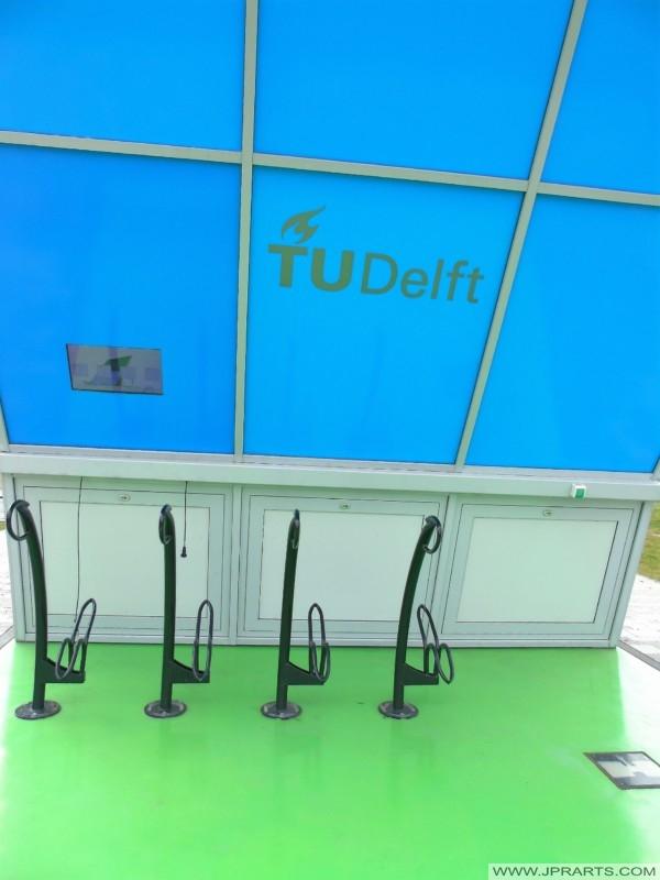 Solar e-Bike Charging Station (TU Delft, Netherlands)