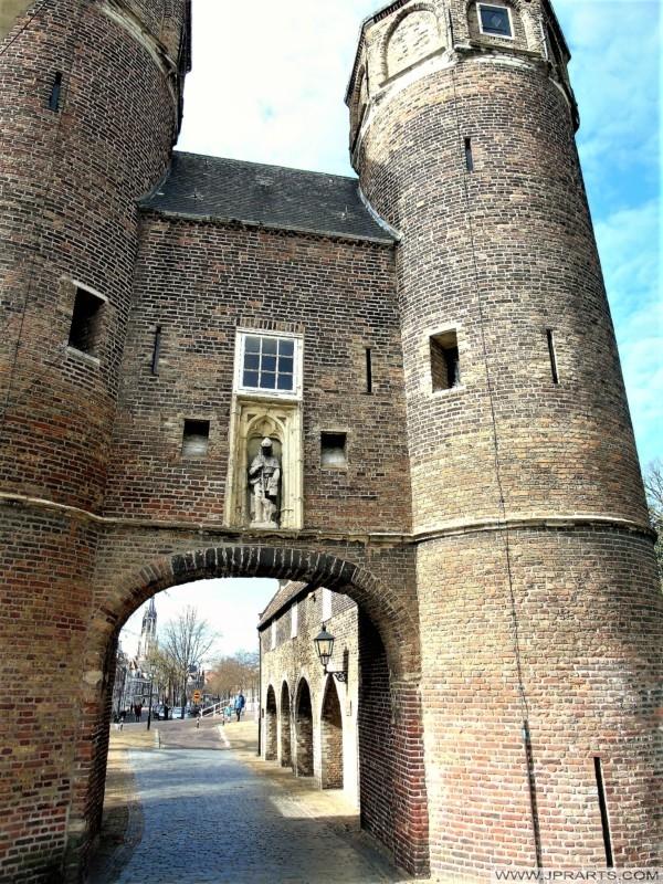 荷兰代尔夫特的大门