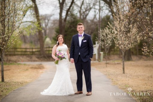 Mallory & Clayton's White House Mansion Wedding