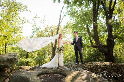 Amy & Blake's Skelly Lodge Wedding