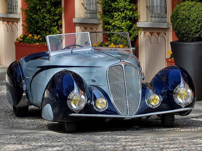 1937 Delahaye 135 M Figoni Falaschi Cabriolet