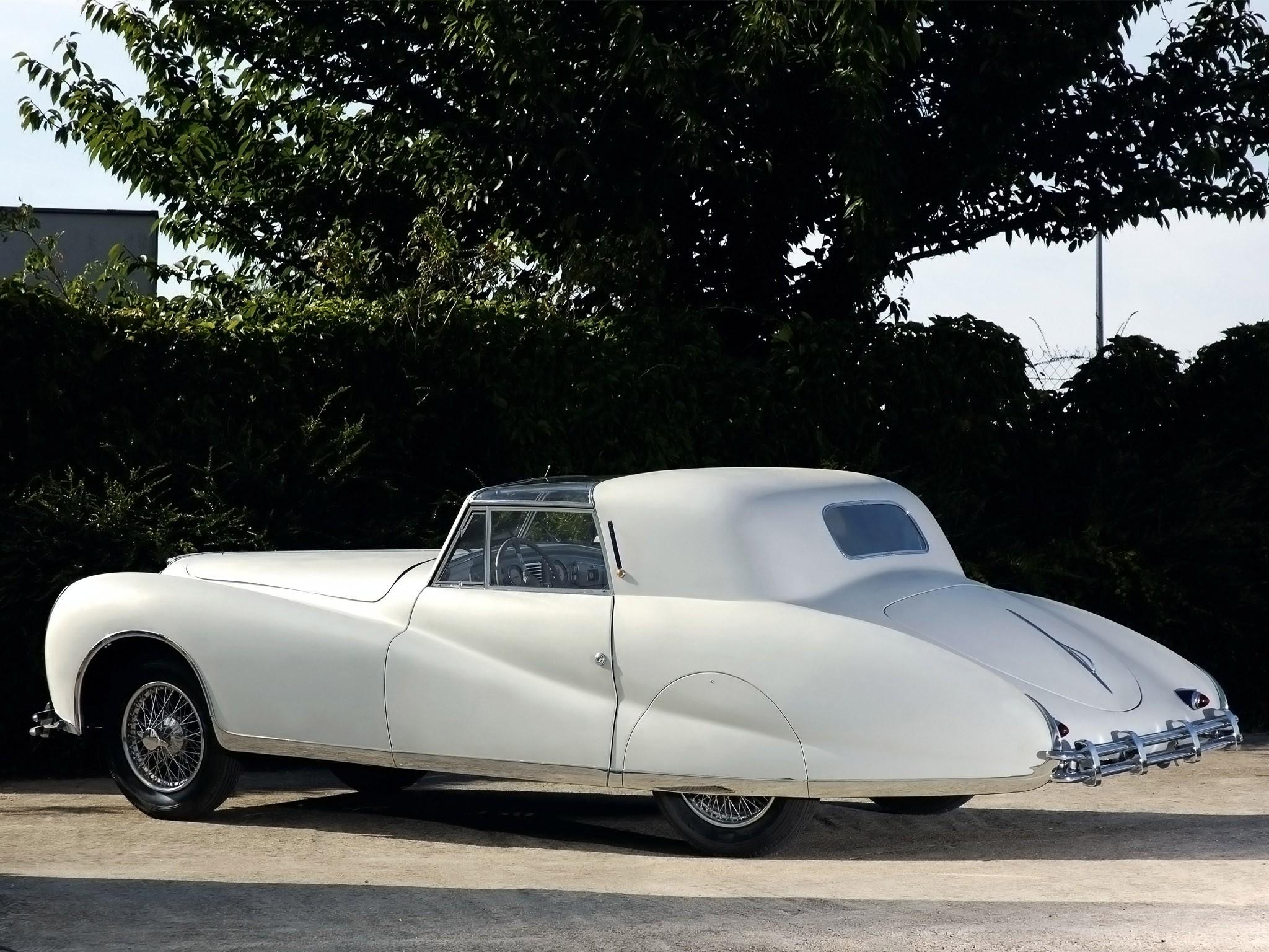 1948 Delahaye 175 S Coupe Deville Aerodynamic by Figoni et Falaschi