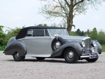 1949 Bentley Mark VI Drophead Coupe by Park Ward