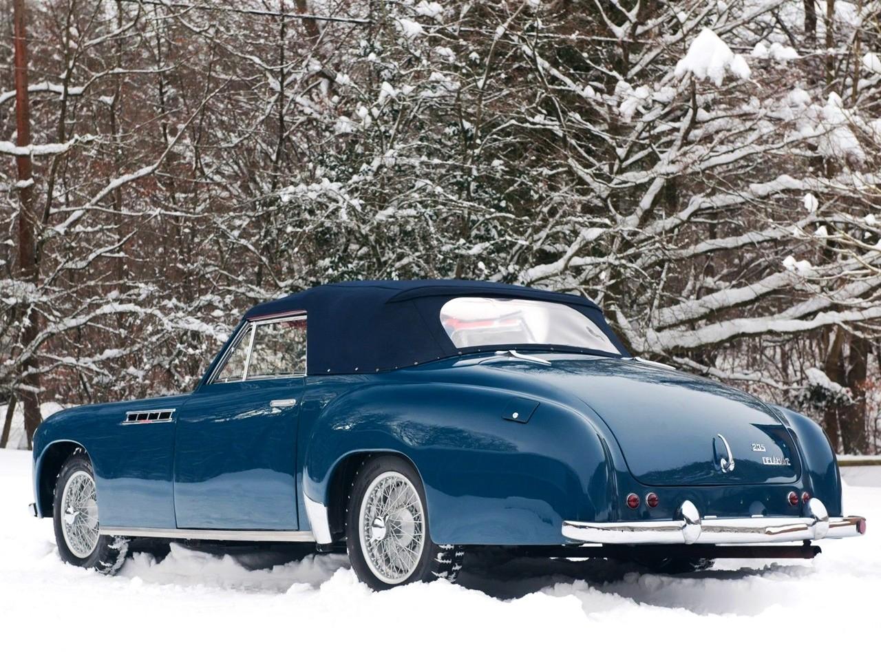 1951 Delahaye 235 M Chapron Cabriolet