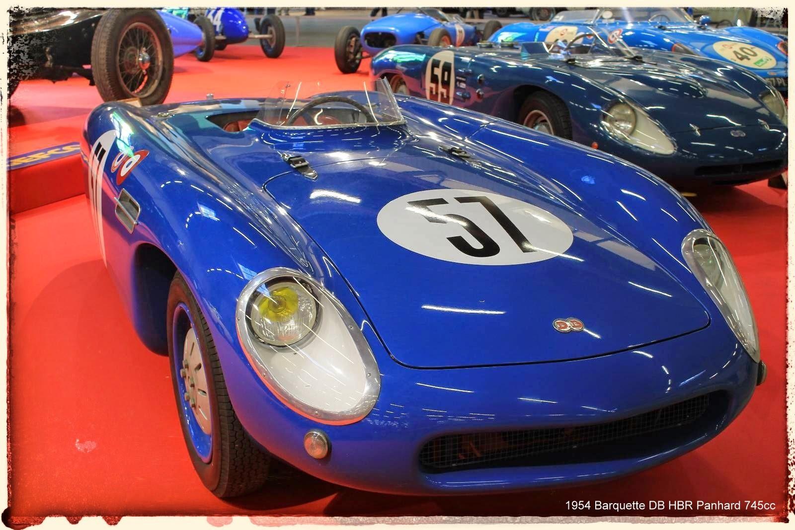 Automédon - 1954 Barquette DB HBR Panhard 745cc