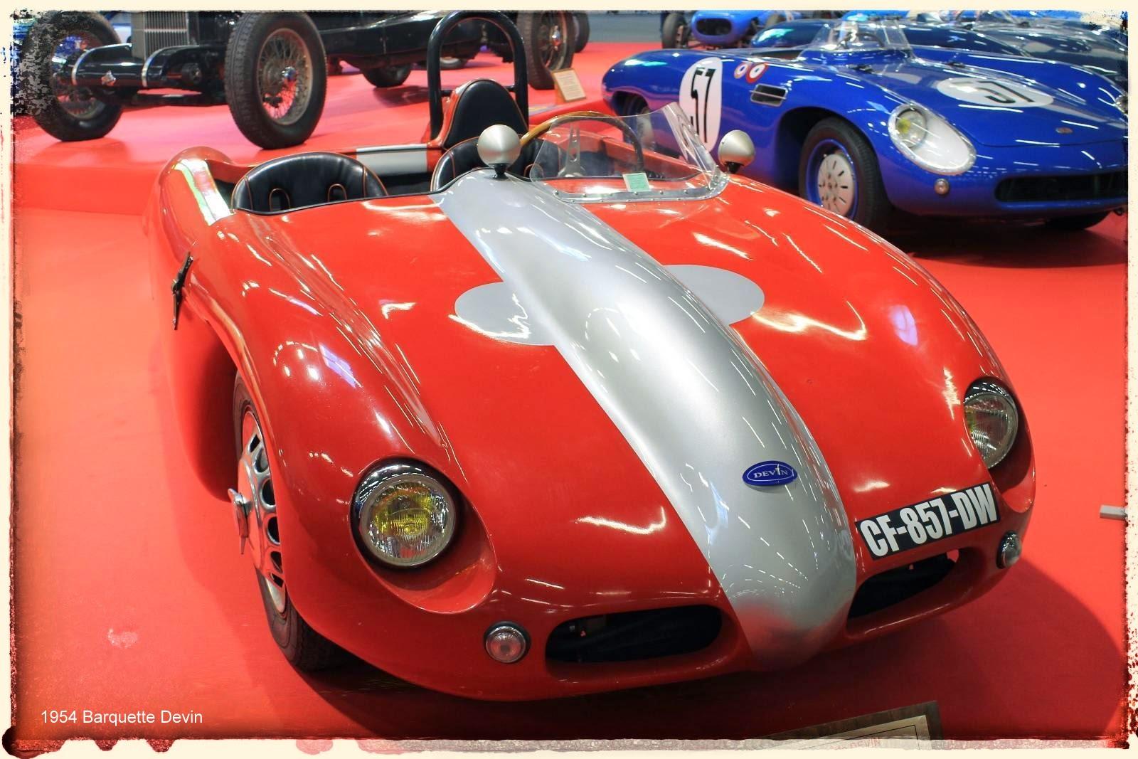 Automédon - 1954 Barquette Devin
