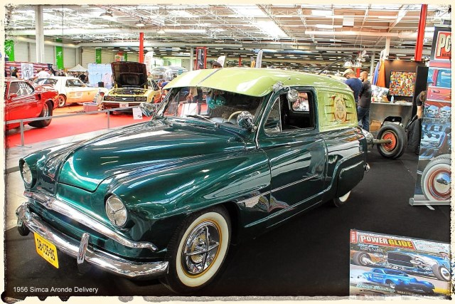 Automédon - 1956 Simca Aronde Delivery