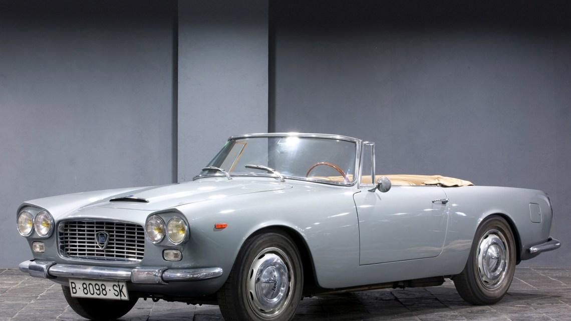Lancia Flaminia, une voiture de luxe Italienne construite de 1957 à 1970.