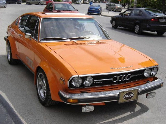 1970-1976 Audi 100 Coupe S