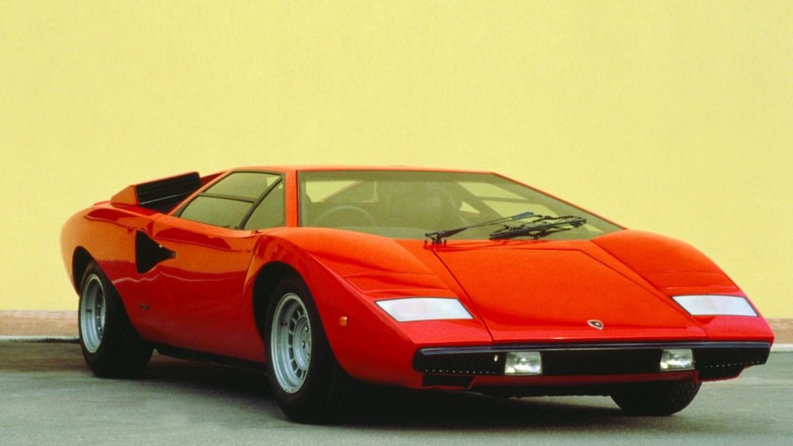 Lamborghini Countach pionnière pour l'industrie des voitures de sport