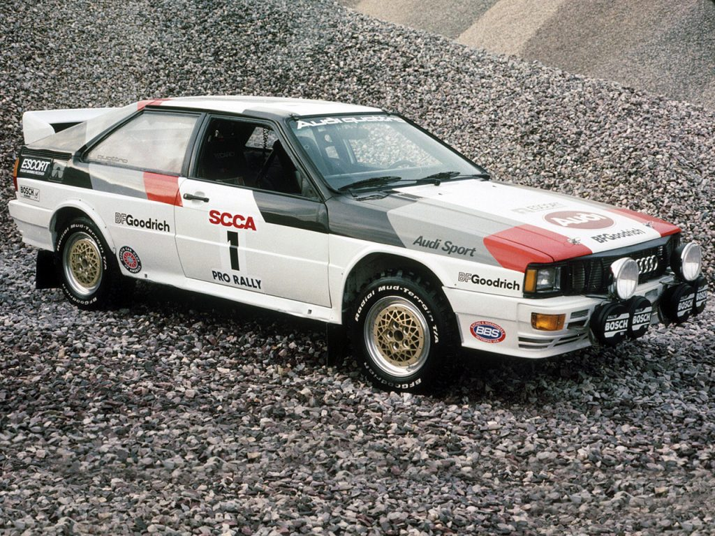 1981-82 Audi Quattro Group-4 Rally