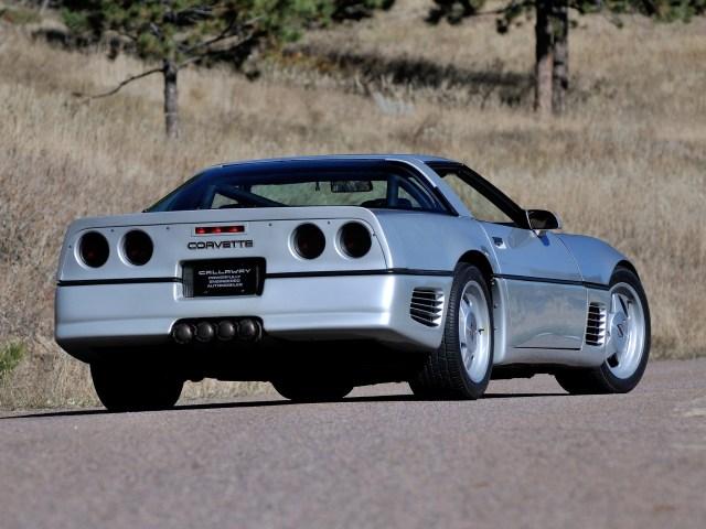 1988 Callaway Chevrolet Corvette C4 Twin Turbo Sledgehammer