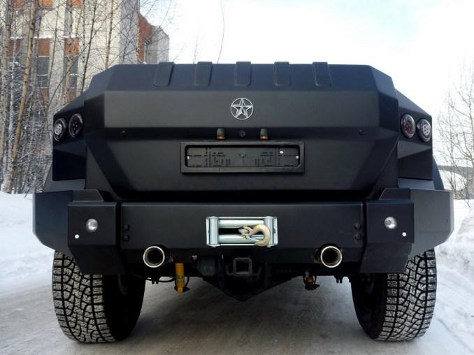 2011 Dartz Prombron Kombat T98 Black Russian Edition AC