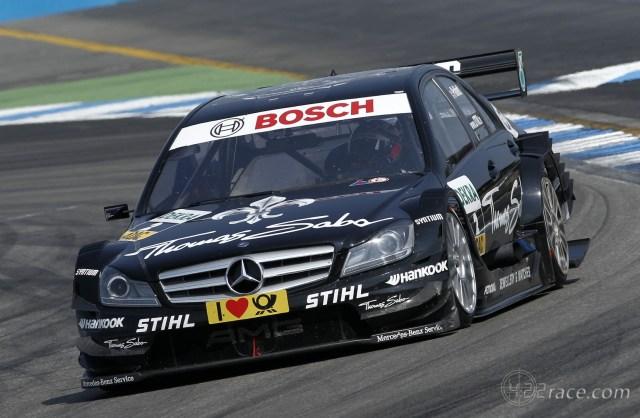 2011 DTM - Mercedes - Gary Paffett