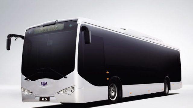 2011 Byd Auto K9 bus 100 % électrique