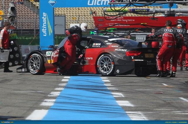 2012 DTM Hockenheim - Audi- Mortara